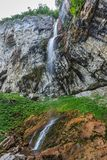 Vanturatoarea Waterfalls, Romania Royalty Free Stock Photography