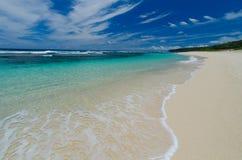 Vanuatisk strand Fotografering för Bildbyråer