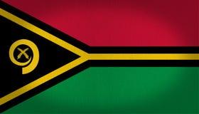 Vanuatu flag Royalty Free Stock Images