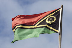 Vanuatu flag Stock Photos