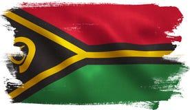 Vanuatu Flag Royalty Free Stock Image