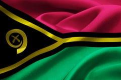 Vanuatu flag Royalty Free Stock Photography