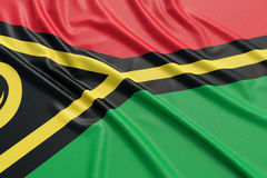 Vanuatu flag Stock Photos