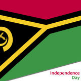Vanuatu independence day Royalty Free Stock Photo
