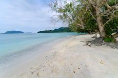 Vanuatu Natural Beach Stock Image