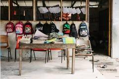 Vanuatu-Schule Lizenzfreies Stockbild