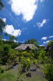 Vanuatu Traditional House Royalty Free Stock Photos