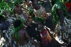Vanuatu tribal villagers Royalty Free Stock Photography