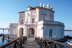 Vanvitelliana de Casina, Fusaro, Bacoli Images stock