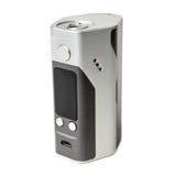 Vape изолированный mod коробки E-сигареты vaping RDA Атомизатор капания Rebuildable пар Стоковое Фото