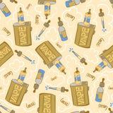 Vape seamless pattern Royalty Free Stock Photo
