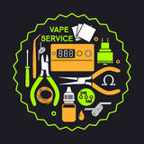 Vape service Royalty Free Stock Photo