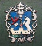 Vapen av Eger, Ungern Royaltyfria Foton