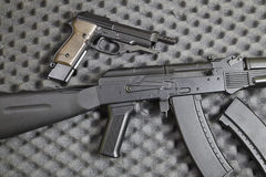 Vapen av kriger Royaltyfri Foto