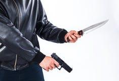 Vapen för attack Royaltyfri Fotografi