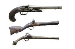 Vapen för gammal hand Arkivbild