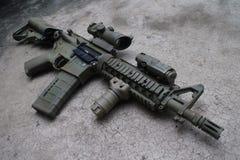 Vapen för airsoft M4a1 Fotografering för Bildbyråer