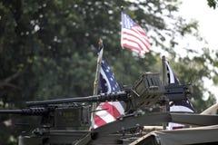 50 vapen Normandie 2014 Royaltyfri Fotografi