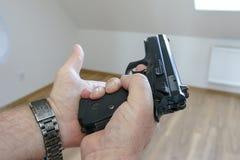 Vapen och huvud Royaltyfri Fotografi