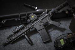 Vapenanfallgevär fotografering för bildbyråer