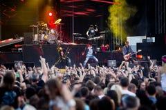 VapenN ro på Tuborg den gröna festen Royaltyfria Bilder