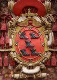 Vapensköld av Burgos Fotografering för Bildbyråer
