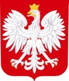 Vapensköld av Polen Arkivbilder