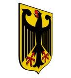 Vapensköld av Tyskland Arkivfoto