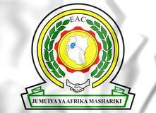 Vapensköld för östlig afrikansk gemenskap vektor illustrationer