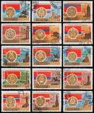 Vapensköld - huvudstad USSR Arkivbilder