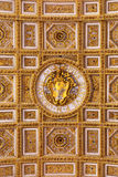 Vapensköld av påven Pius VI Royaltyfria Bilder