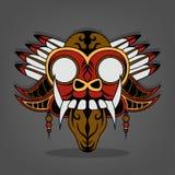 Vapeur Barong punk Bali Illustration de Vecteur