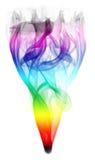 Vapeur colorée image libre de droits