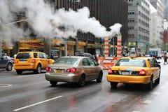 Vapeur de New York City image libre de droits