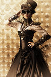 Vapeur de robe Photographie stock libre de droits