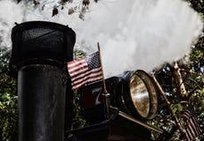 Vapeur des Etats-Unis Photos libres de droits