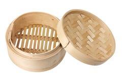 Vapeur en bambou photos stock