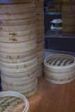Vapeurs en bambou Image stock