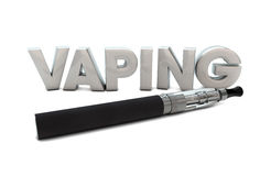 Vaping Stockfotos