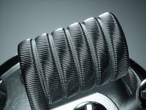 Vaping atomizer with clapton coil. 3d rendering Stock Photo