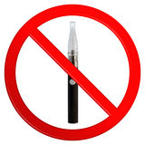 Vaping Not Permitted Sign Royalty Free Stock Photography