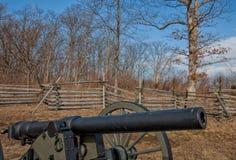 Vapnen av Gettysburg--Inbördeskrigkanon Royaltyfri Fotografi