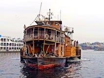 Vapor de paleta de Rocket, río de Buriganga, Bangladesh imágenes de archivo libres de regalías