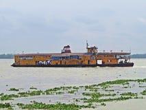 Vapor de paleta de Rocket, río de Buriganga, Bangladesh foto de archivo