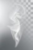 Vapor do aroma do fumo ilustração do vetor