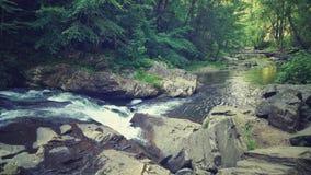 Vapor frio de Arkansas com água de fluxo macia foto de stock royalty free