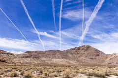Vapor Trails Royalty Free Stock Image