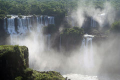 Vapor of water in iguazu Royalty Free Stock Photo