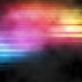 Vapore al neon Fotografia Stock