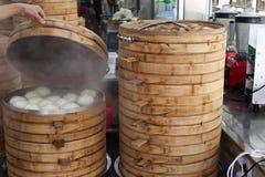 Vapore cinese dell'alimento fotografia stock libera da diritti